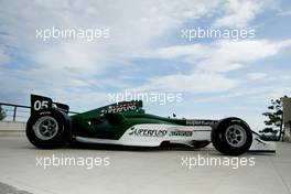 Formula Superfund, the new car for the 2005 season.