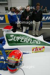 31.10.2004 Nurburgring, Germany, Sunday, 31 October 2004, Norbert Siedler, AUT, ADM Motorsport - SUPERFUND EURO 3000 Championship Rd 10, Nurburgring, Germany, GER - SUPERFUND COPYRIGHT FREE editorial use only