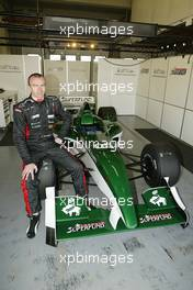 11.11.2004 Jerez, Spain, Thursday, 11 November 2004, Bas Leinders, BEL, with the Formula SUPERFUND SF01 car - Formula SUPERFUND Testing, Jerez, Spain, ESP - SUPERFUND COPYRIGHT FREE editorial use only