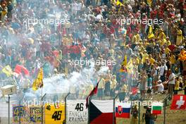 16.08.2009 Brno, Czech Republic,  FANS - MotoGP World Championship, Rd. 11, CARDION AB GRAND PRIX CESKE REPUBLIKY