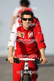 Andrea Stella (ITA) Ferrari Race Engineer. 01.03.2014. Formula One Testing, Bahrain Test Two, Day Three, Sakhir, Bahrain.