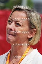 Sabine Kehm (GER) Manager of Michael Schumacher (GER). 10.05.2015. Formula 1 World Championship, Rd 5, Spanish Grand Prix, Barcelona, Spain, Race Day.