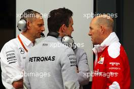 Jock Clear (GBR) Ferrari Engineering Director. 19.03.2016. Formula 1 World Championship, Rd 1, Australian Grand Prix, Albert Park, Melbourne, Australia, Qualifying Day.
