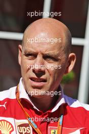 Jock Clear (GBR) Ferrari Engineering Director. 12.05.2016. Formula 1 World Championship, Rd 5, Spanish Grand Prix, Barcelona, Spain, Preparation Day.