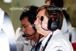 Jost Capito (GER) McLaren Chief Executive Officer. 02.09.2016. Formula 1 World Championship, Rd 14, Italian Grand Prix, Monza, Italy, Practice Day.