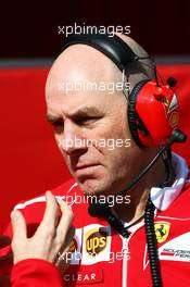 Jock Clear (GBR) Ferrari Engineering Director. 27.02.2017. Formula One Testing, Day One, Barcelona, Spain. Monday.