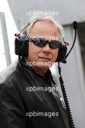 Gene Haas (USA) Haas Automotion President. 28.02.2017. Formula One Testing, Day Two, Barcelona, Spain. Tuesday.