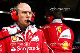 Jock Clear (GBR) Ferrari Engineering Director. 15.07.2017. Formula 1 World Championship, Rd 10, British Grand Prix, Silverstone, England, Qualifying Day.