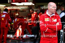 Jock Clear (GBR) Ferrari Engineering Director. 13.07.2017. Formula 1 World Championship, Rd 10, British Grand Prix, Silverstone, England, Preparation Day.