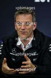 James Allison (GBR) Mercedes AMG F1 Technical Director in the FIA Press Conference. 06.10.2017. Formula 1 World Championship, Rd 16, Japanese Grand Prix, Suzuka, Japan, Practice Day.