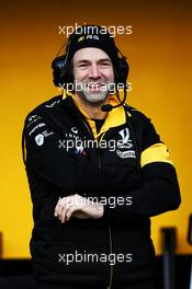 Ciaron Pilbeam (GBR) Renault Sport F1 Team Chief Race Engineer. 27.02.2018. Formula One Testing, Day Two, Barcelona, Spain. Tuesday.