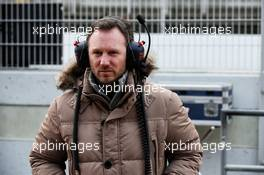 Christian Horner (GBR) Red Bull Racing Team Principal. 27.02.2018. Formula One Testing, Day Two, Barcelona, Spain. Tuesday.
