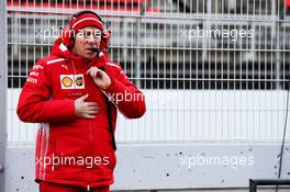 Jock Clear (GBR) Ferrari Engineering Director. 27.02.2018. Formula One Testing, Day Two, Barcelona, Spain. Tuesday.
