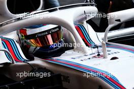 Sergey Sirotkin (RUS) Williams FW41. 27.02.2018. Formula One Testing, Day Two, Barcelona, Spain. Tuesday.