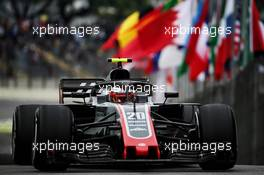 Kevin Magnussen (DEN) Haas VF-18. 09.11.2018. Formula 1 World Championship, Rd 20, Brazilian Grand Prix, Sao Paulo, Brazil, Practice Day.