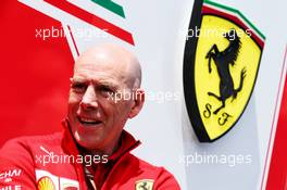 Jock Clear (GBR) Ferrari Engineering Director. 07.06.2018. Formula 1 World Championship, Rd 7, Canadian Grand Prix, Montreal, Canada, Preparation Day.