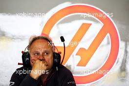 Gene Haas (USA) Haas Automotion President. 13.04.2018. Formula 1 World Championship, Rd 3, Chinese Grand Prix, Shanghai, China, Practice Day.