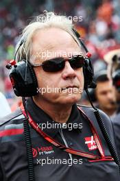 Gene Haas (USA) Haas Automotion President on the grid. 02.09.2018. Formula 1 World Championship, Rd 14, Italian Grand Prix, Monza, Italy, Race Day.