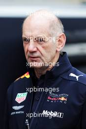 Adrian Newey (GBR) Red Bull Racing Chief Technical Officer. 20.10.2018. Formula 1 World Championship, Rd 18, United States Grand Prix, Austin, Texas, USA, Qualifying Day.