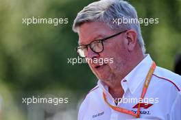 Ross Brawn (GBR) Managing Director, Motor Sports. 30.08.2019. Formula 1 World Championship, Rd 13, Belgian Grand Prix, Spa Francorchamps, Belgium, Practice Day.