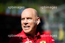 Jock Clear (GBR) Ferrari Engineering Director. 31.08.2019. Formula 1 World Championship, Rd 13, Belgian Grand Prix, Spa Francorchamps, Belgium, Qualifying Day.