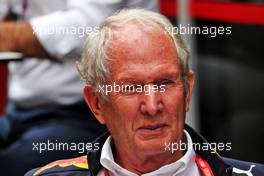 Dr Helmut Marko (AUT) Red Bull Motorsport Consultant. 16.11.2019. Formula 1 World Championship, Rd 20, Brazilian Grand Prix, Sao Paulo, Brazil, Qualifying Day.