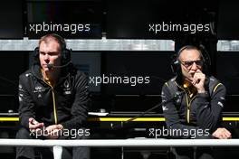 Alan Permane (GBR), Renault Sport F1 Team Trackside Operations Director and Cyril Abiteboul (FRA), Renault Sport F1 Managing Director  07.06.2019. Formula 1 World Championship, Rd 5, Spanish Grand Prix, Barcelona, Spain, Practice Day.
