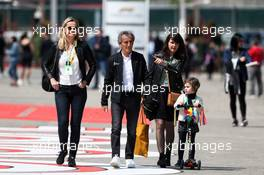 Alain Prost (FRA) Renault F1 Team Special Advisor. 13.04.2019. Formula 1 World Championship, Rd 3, Chinese Grand Prix, Shanghai, China, Qualifying Day.