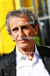 Alain Prost (FRA) Renault F1 Team Special Advisor. 10.05.2019. Formula 1 World Championship, Rd 5, Spanish Grand Prix, Barcelona, Spain, Practice Day.