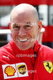 Jock Clear (GBR) Ferrari Engineering Director. 12.07.2019. Formula 1 World Championship, Rd 10, British Grand Prix, Silverstone, England, Practice Day.