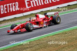 Mick Schumacher (GER) Ferrari Test Driver in the Ferrari F2004 driven by his father Michael Schumacher. 27.07.2019. Formula 1 World Championship, Rd 11, German Grand Prix, Hockenheim, Germany, Qualifying Day.