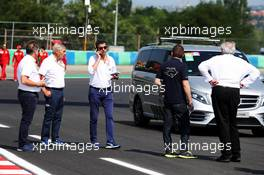 Michael Masi (AUS) FIA Race Director inspects the circuit. 01.08.2019. Formula 1 World Championship, Rd 12, Hungarian Grand Prix, Budapest, Hungary, Preparation Day.