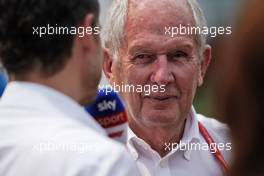 Dr Helmut Marko (AUT) Red Bull Motorsport Consultant.                                27.10.2019. Formula 1 World Championship, Rd 18, Mexican Grand Prix, Mexico City, Mexico, Race Day.