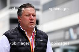 Zak Brown (USA) McLaren Executive Director. 27.09.2019. Formula 1 World Championship, Rd 16, Russian Grand Prix, Sochi Autodrom, Sochi, Russia, Practice Day.