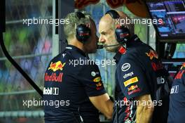 Adrian Newey (GBR) Red Bull Racing Chief Technical Officer. 20.09.2019. Formula 1 World Championship, Rd 15, Singapore Grand Prix, Marina Bay Street Circuit, Singapore, Practice Day.