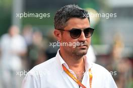 Michael Masi (AUS) FIA Race Director. 22.09.2019. Formula 1 World Championship, Rd 15, Singapore Grand Prix, Marina Bay Street Circuit, Singapore, Race Day.