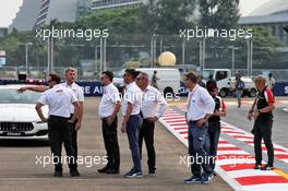 Michael Masi (AUS) FIA Race Director walks the circuit. 19.09.2019. Formula 1 World Championship, Rd 15, Singapore Grand Prix, Marina Bay Street Circuit, Singapore, Preparation Day.