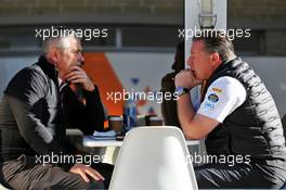 (L to R): Gil de Ferran (BRA) McLaren Sporting Director with Zak Brown (USA) McLaren Executive Director. 01.11.2019. Formula 1 World Championship, Rd 19, United States Grand Prix, Austin, Texas, USA, Practice Day.