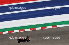 Alexander Albon (THA) Red Bull Racing RB15. 01.11.2019. Formula 1 World Championship, Rd 19, United States Grand Prix, Austin, Texas, USA, Practice Day.