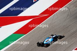 Robert Kubica (POL) Williams Racing FW42. 01.11.2019. Formula 1 World Championship, Rd 19, United States Grand Prix, Austin, Texas, USA, Practice Day.