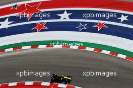 Nico Hulkenberg (GER) Renault F1 Team RS19. 01.11.2019. Formula 1 World Championship, Rd 19, United States Grand Prix, Austin, Texas, USA, Practice Day.