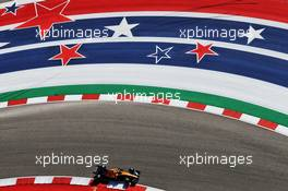 Lando Norris (GBR) McLaren MCL34. 01.11.2019. Formula 1 World Championship, Rd 19, United States Grand Prix, Austin, Texas, USA, Practice Day.
