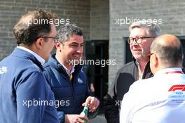 (L to R): Nicholas Tombazis (GRE) FIA Head of Single-Seater Technical Matters; Michael Masi (AUS) FIA Race Director; Ross Brawn (GBR) Managing Director, Motor Sports; Nicholas Tombazis (GRE) FIA Head of Single-Seater Technical Matters. 02.11.2019. Formula 1 World Championship, Rd 19, United States Grand Prix, Austin, Texas, USA, Qualifying Day.