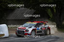 Mads Ostberg (NOR) / Torstein Eriksen (NOR) Citroen C3 R5 PH Sport. 04-06.09.2020. FIA World Rally Championship Rd 4, Rally Estonia, Tartu, Estonia.