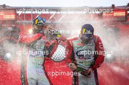 Mads Ostberg (NOR) / Torstein Eriksen (NOR) Citroen C3 R5 PH Sport, winners; Adrien Fourmaux (FRA) / Renaud Jamoul (BEL) Ford Fiesta Rally2 M-Sport Ford WRT, second; Pontus Tidemand (SWE) / Patrik Barth (SWE) Skoda Fabia Rally2 evo Toksport WRT, third. 