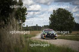 Oliver Solberg (SWE) / Aaron Johnston (IRL) Volkswagen Polo GTI R5. 04-06.09.2020. FIA World Rally Championship Rd 4, Rally Estonia, Tartu, Estonia.