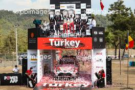 Elfyn Evans, Scott Martin, Toyota Gazoo Racing WRT, Toyota Yaris WRC. 
