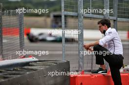 Toto Wolff (GER) Mercedes AMG F1 Shareholder and Executive Director. 07.08.2020. Formula 1 World Championship, Rd 5, 70th Anniversary Grand Prix, Silverstone, England, Practice Day.