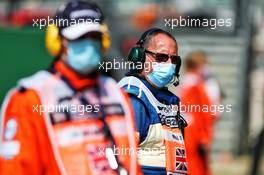 Circuit atmosphere - marshal. 09.08.2020. Formula 1 World Championship, Rd 5, 70th Anniversary Grand Prix, Silverstone, England, Race Day.