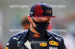 Max Verstappen (NLD) Red Bull Racing. 08.08.2020. Formula 1 World Championship, Rd 5, 70th Anniversary Grand Prix, Silverstone, England, Qualifying Day.